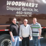 Robb Woodward, Marvin Woodward and Larry Knaub